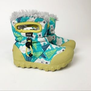 Bogs Bmoc Bears Toddler Snow Boots, Size 8
